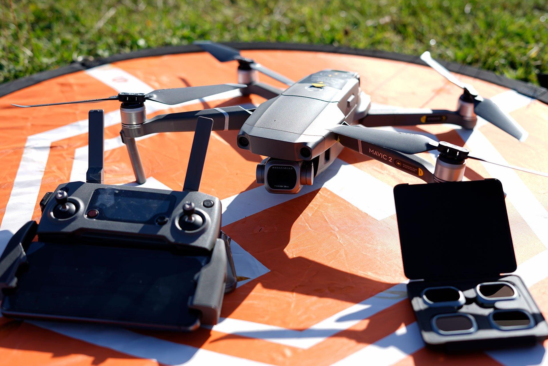 Dron para vídeo