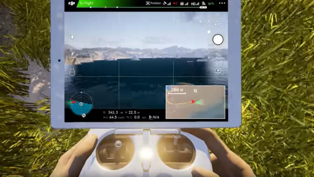 Simulador Dron Dji